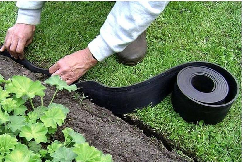 бордюр для газона