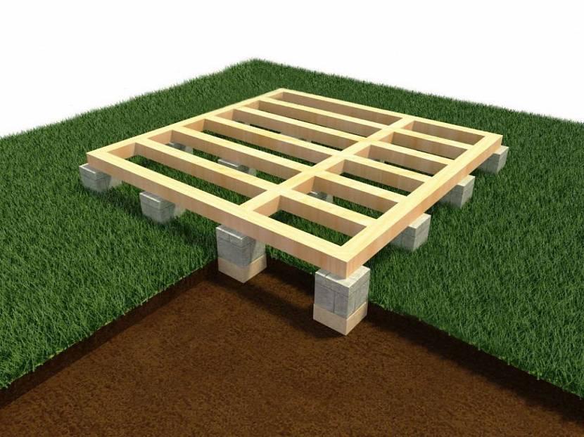 Проект столбчатого фундамента из блоков