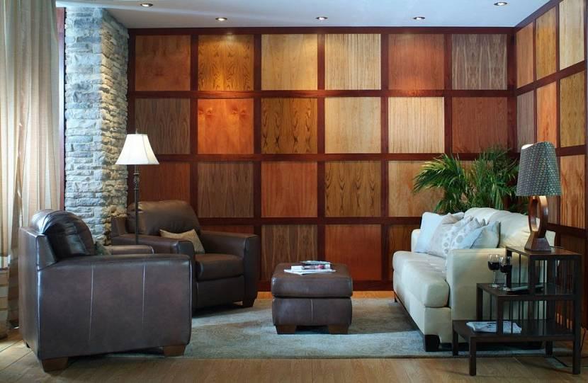 виды стеновых панелей для внутренней отделки