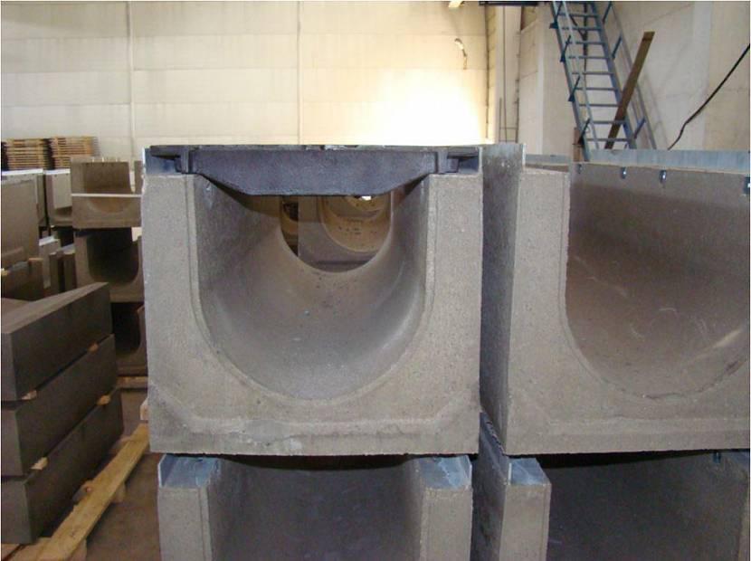 водосток для канавы бетонные