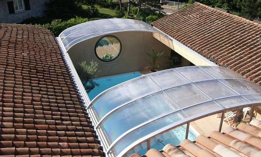 металлическая раздвижная крыша