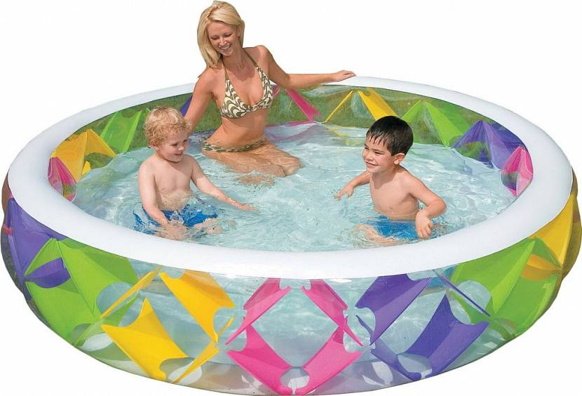 купить надувной бассейн для дачи