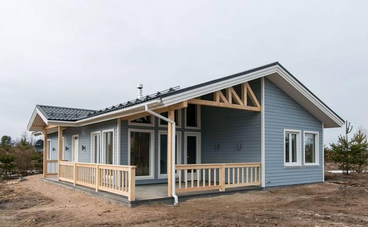 Проекты каркасных домов до 100 кв. м: типы домов, этапы ...