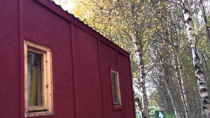 Покраска строения из плит ОСБ с внешней стороны