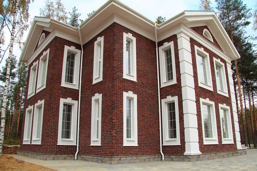пирог фасады домов из полиуретана фото сохранившимся