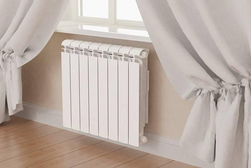 Алюминиевые и биметаллические радиаторы похожи