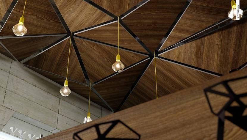 чем отделать потолок в частном доме