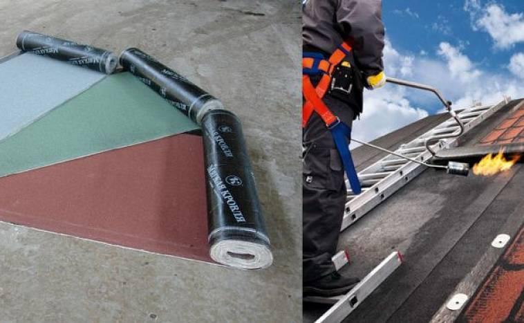 кровельные материалы для крыши рубероид