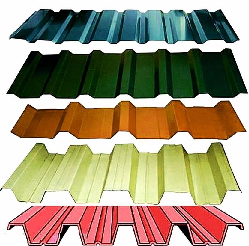 крыша из оцинкованного листа