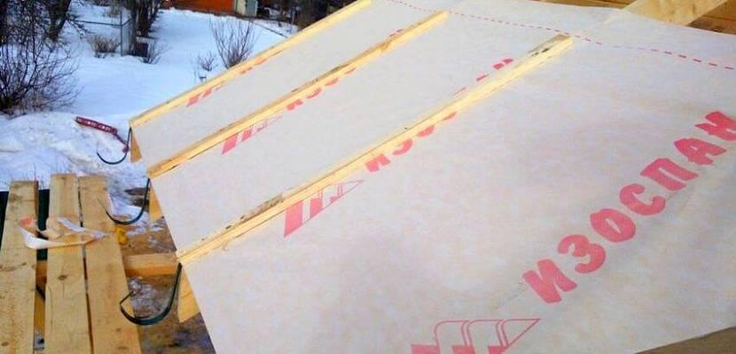 гидроизоляция под профнастил на крышу цена
