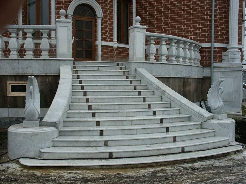 лестницы уличные в частном доме