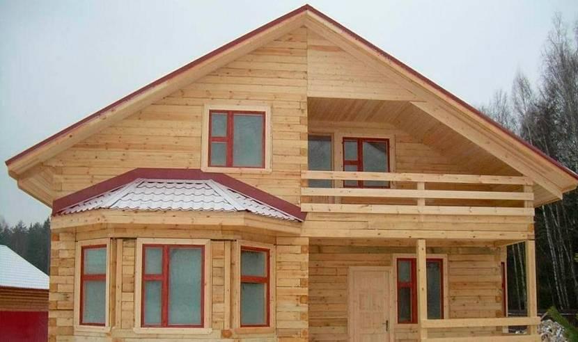 как правильно построить дом из бруса