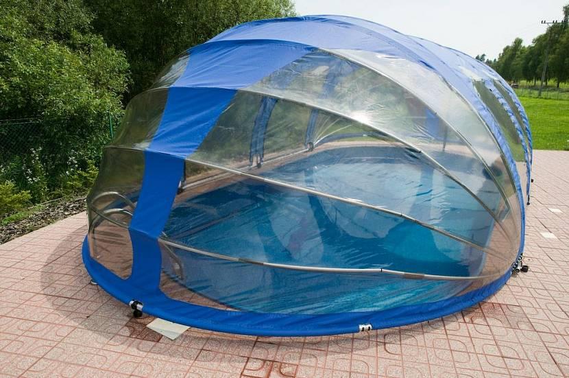 бассейн для дачи с подогревом воды