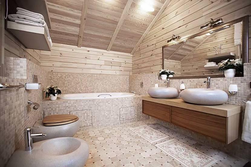 Проект душевой в деревянном доме