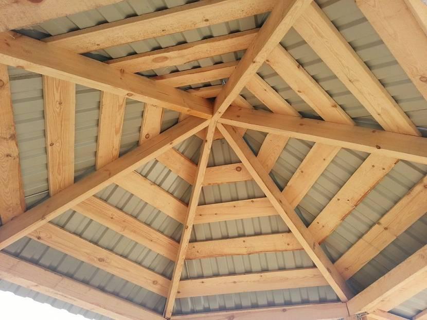шатровая крыша своими руками видео