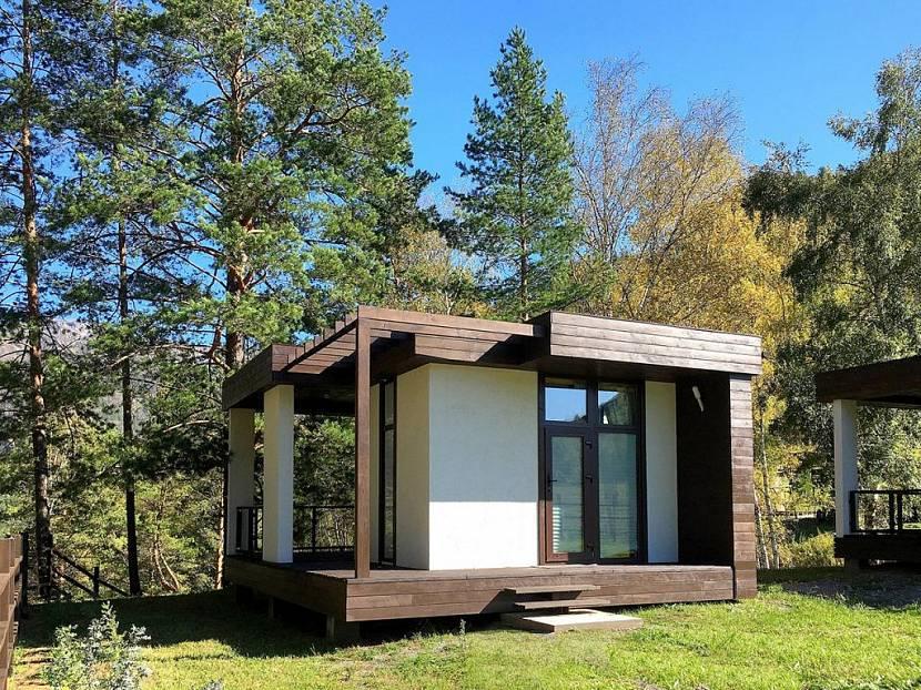 Дом для гостей в стиле модерн