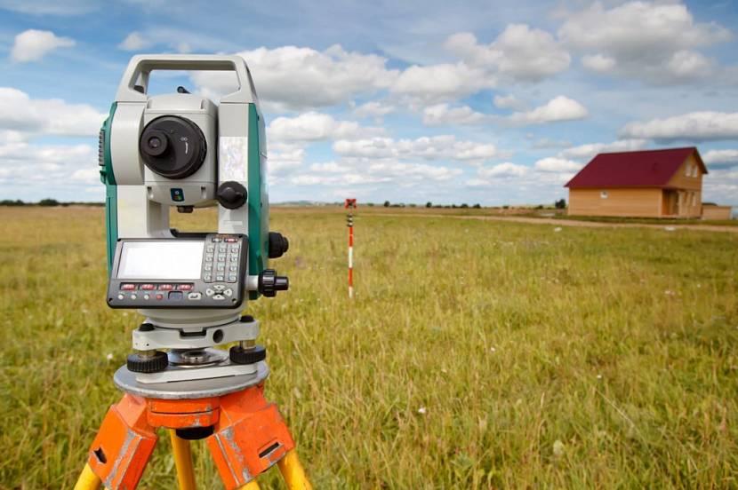 оборудование для определения границ земельного надела