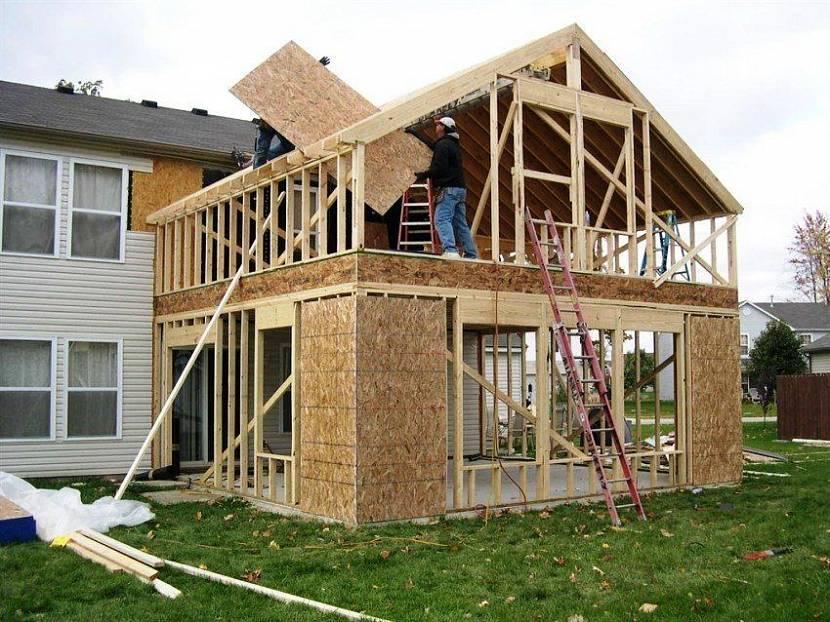 пристроить веранду к дому цена на работы