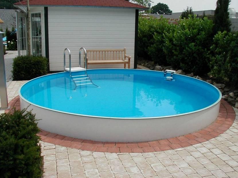 жесткий бассейн для дачи