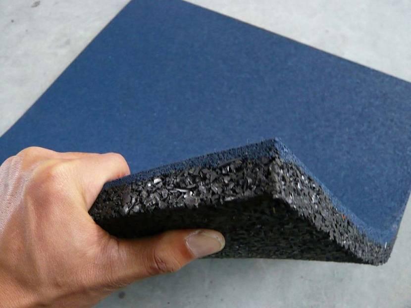 резиновая плитка для пола в гараже