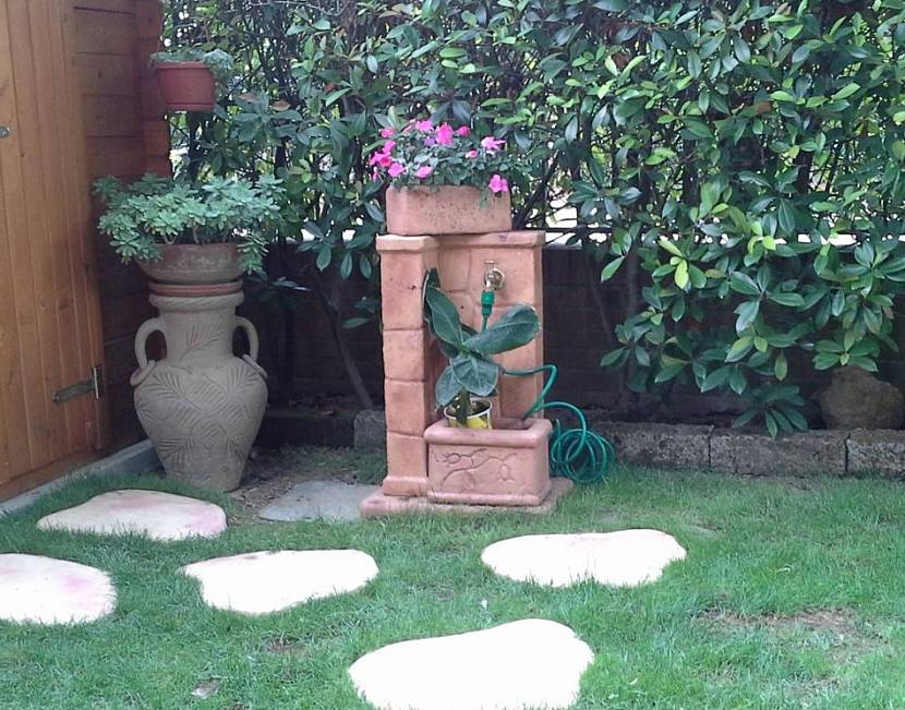 кран декоративный садовый для воды