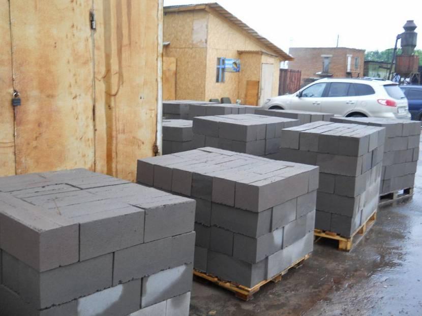 блоки для строительства гаража