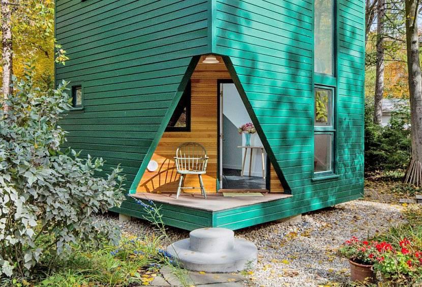 Гостевой домик: оригинальное дизайнерское решение