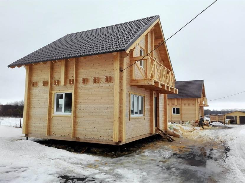 двойной брус проекты домов
