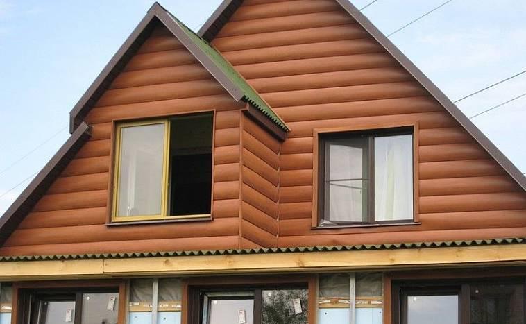 фото фронтонов домов обшитых сайдингом