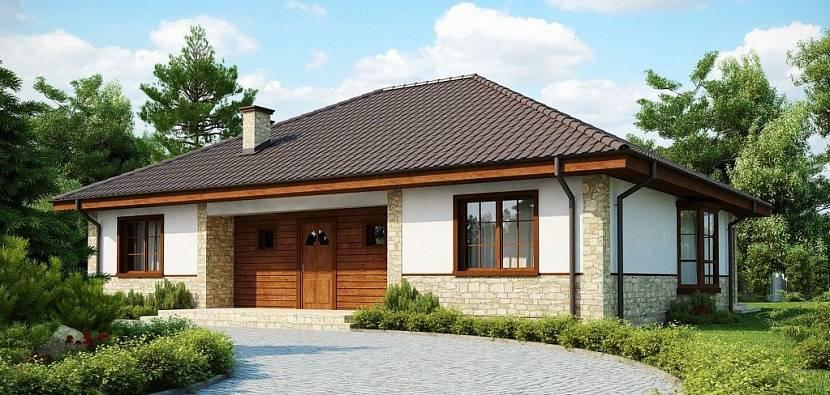 проект дома 10 на 12 одноэтажный