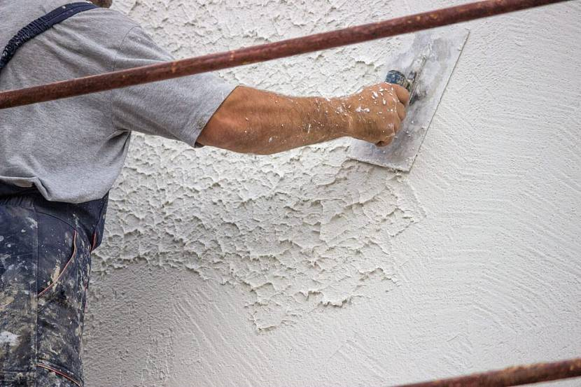 отделка стен на даче