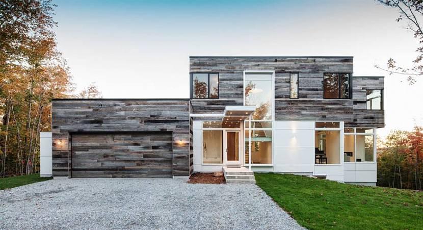 проекты домов хай-тек с плоской крышей