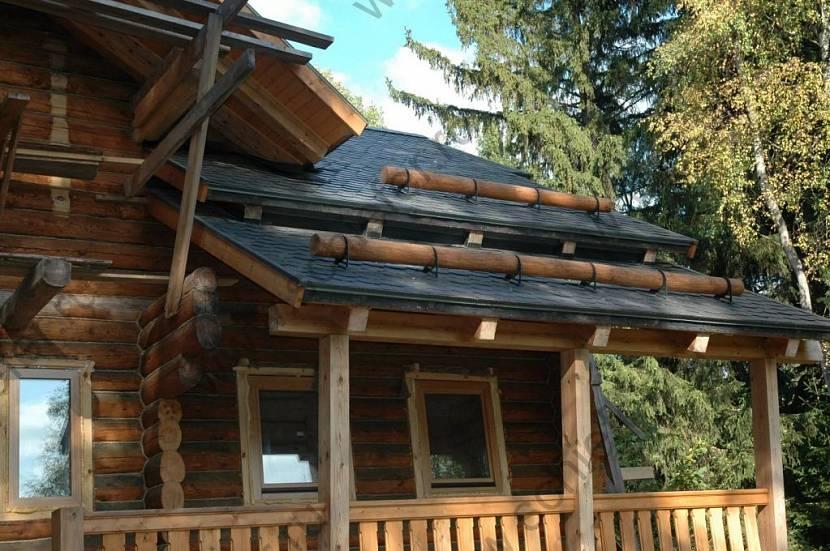 стоимость установки снегозадержателей на металлочерепицу