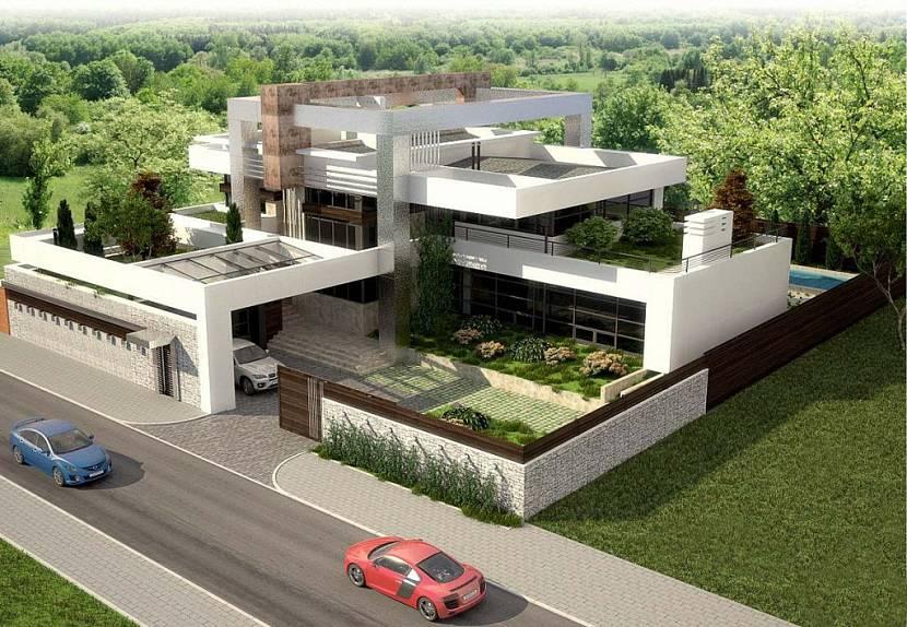 дом с плоской крышей каталог проектов