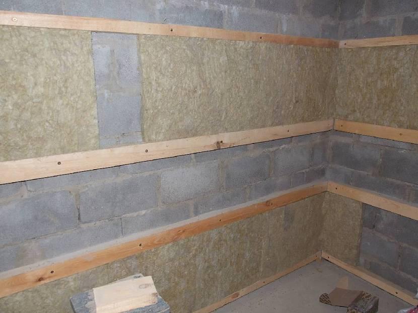 отделка стен из газобетона внутри помещения