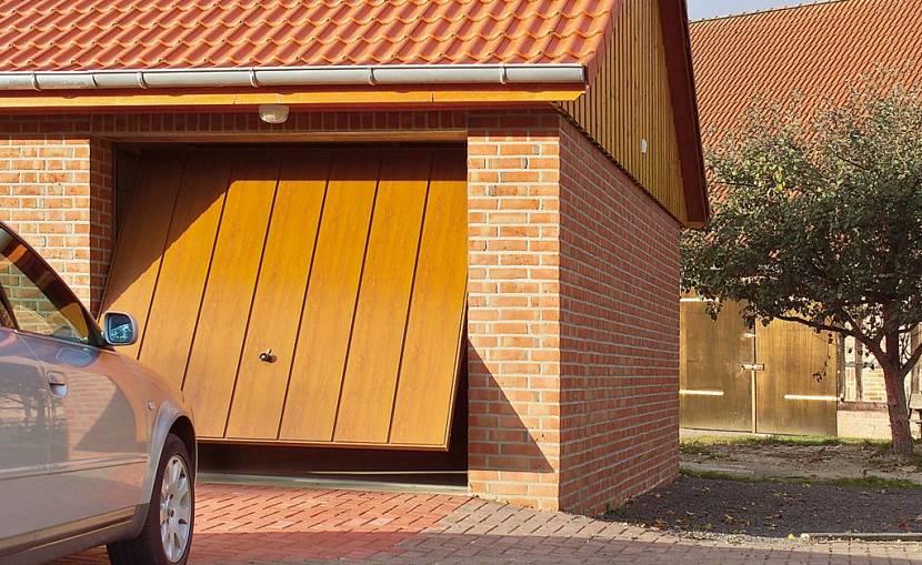 откатные ворота для гаража