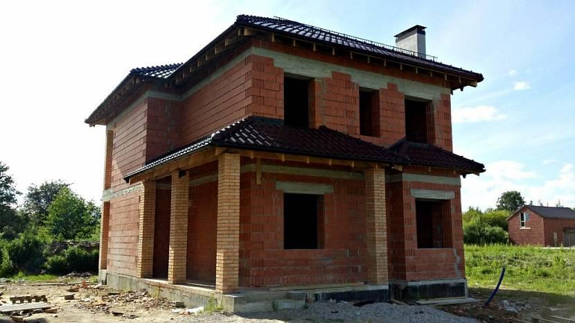 проект дома 10х12 двухэтажный из поризованных блоков