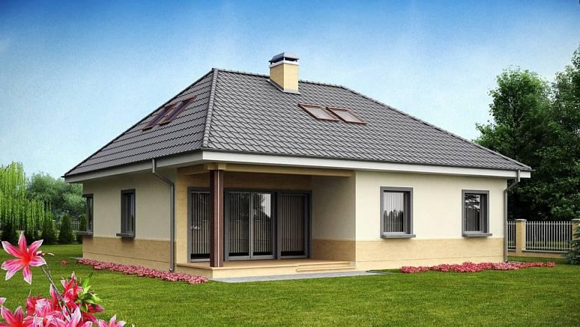 4 х скатная крыша