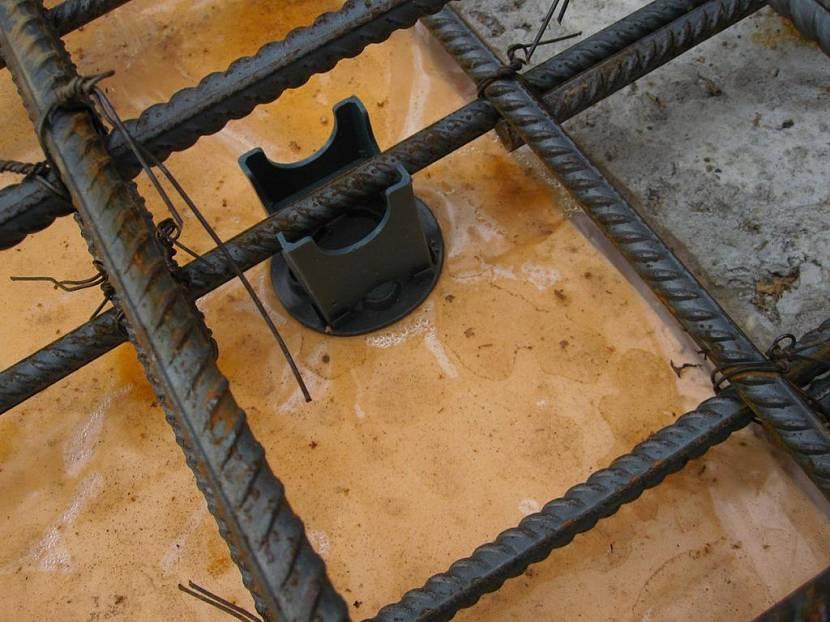 плита под гараж толщина