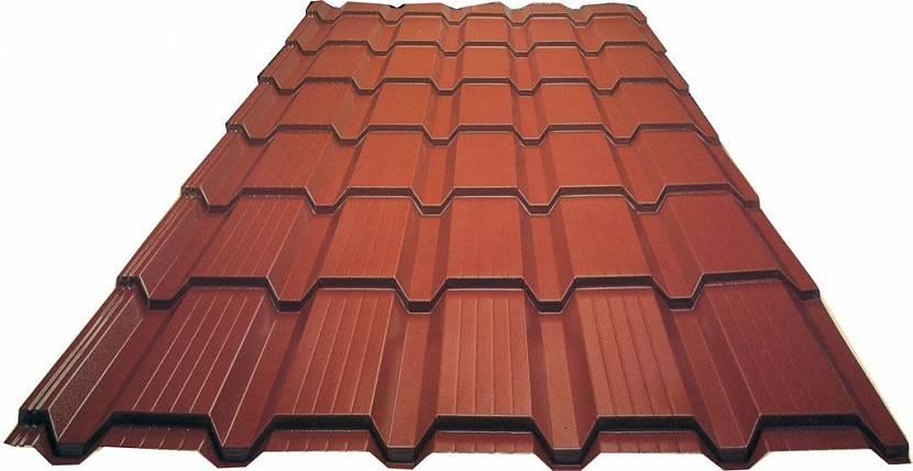 металлочерепица на крышу каскад