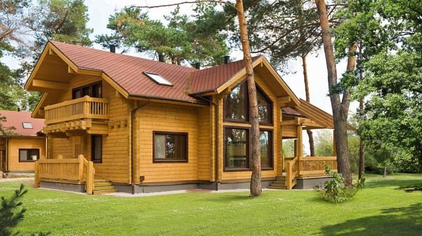 Деревянные дома экологичные