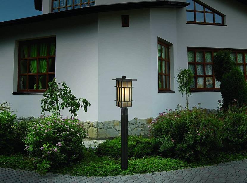 садовые столбы наружного освещения купить
