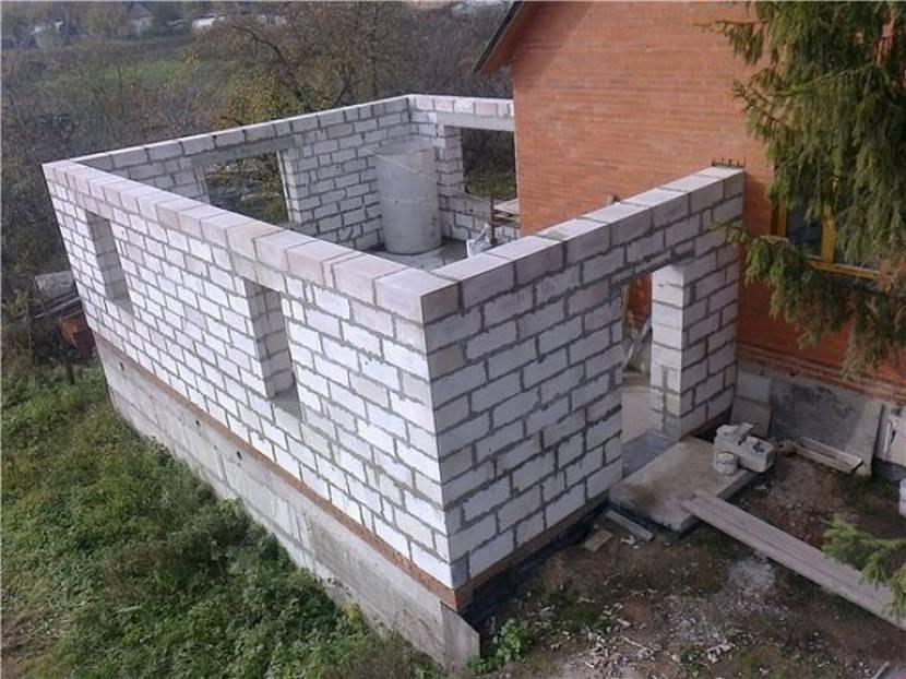 проект дома с гаражом и баней