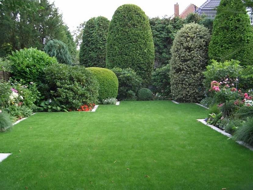оформление сада ландшафтный дизайн