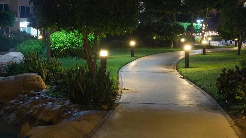 светильники в сад