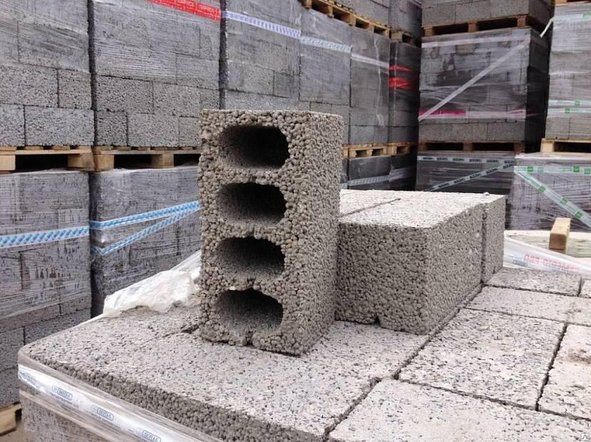 строительные блоки виды размеры цена