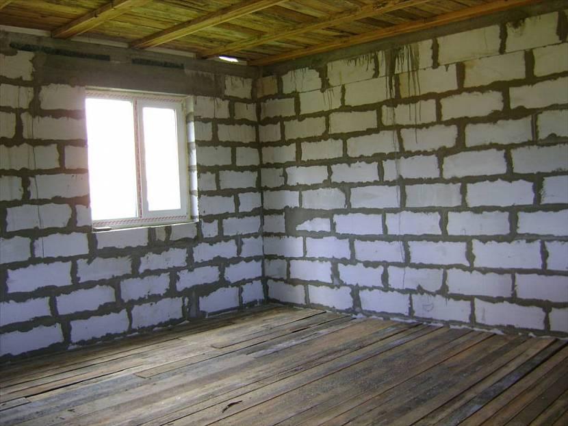 внутренняя отделка дома из блоков