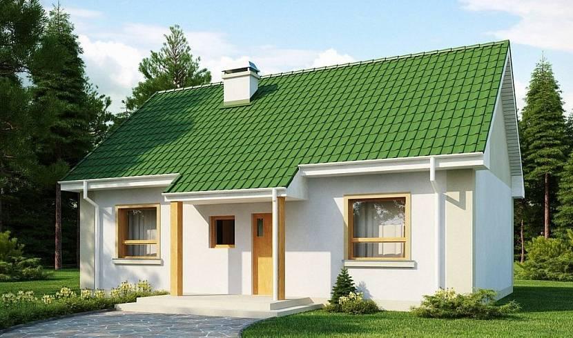 Типовой проект дома из газобетона