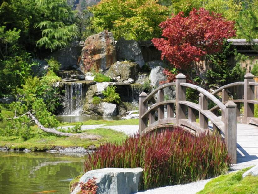 ландшафтный стиль сада