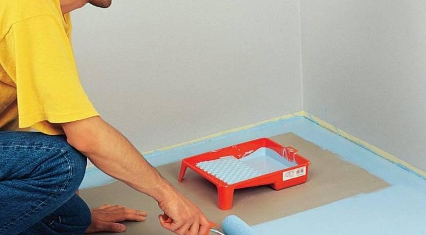как правильно покрасить деревянный пол на даче